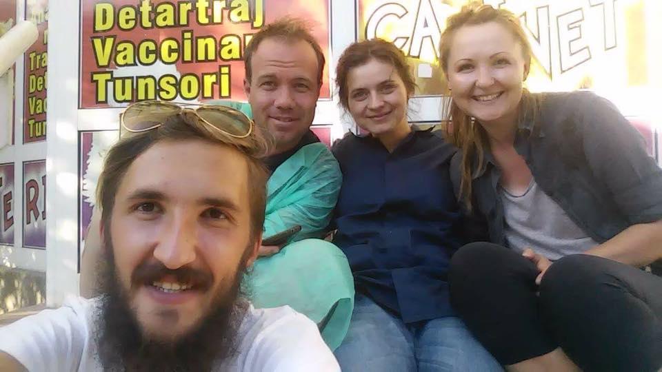 v.l.n.r. Daniel Bejinariu, Danut Bratu, Andreea Sorohan, Lidia Zahiu
